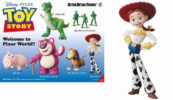 Medicom UDF-373 Ultra Detail Figure Toy Story Jessie